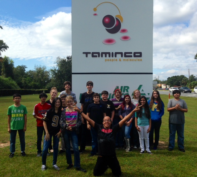 Students Tour Taminco