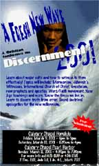 Discernment Conference 2001