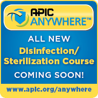 APIC Disinfection and Sterilization