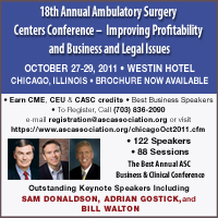 18th Annual Ambulatory Surgery Centers Conference