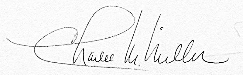 Charlee Miller signature