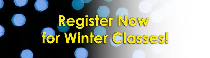 Winter classes banner