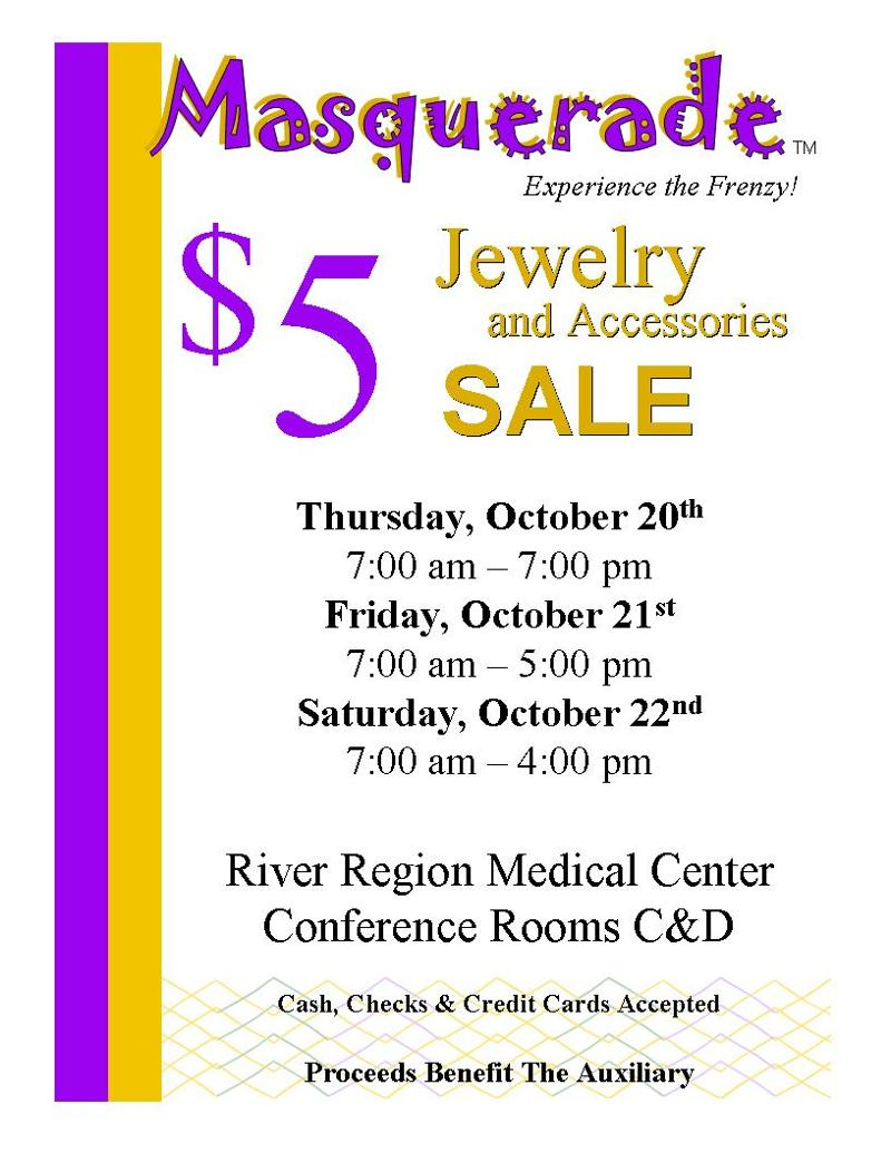 Oct 2011 Jewelry Sale Sign