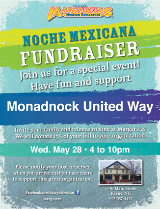 Margaritas Noche Mexican benefitting MUW