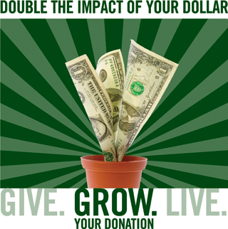 Double the Impact of Your Dollar