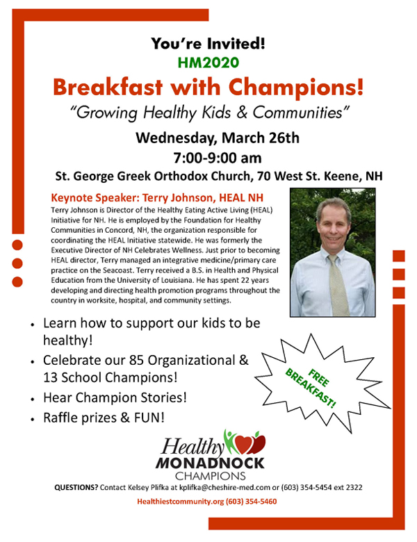 HM2020 Breakfast with Champions
