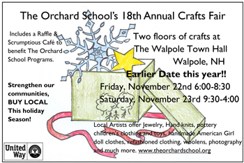 The Orchard School Craft Fair and Cafe