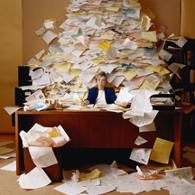 Messy Desk ALCN
