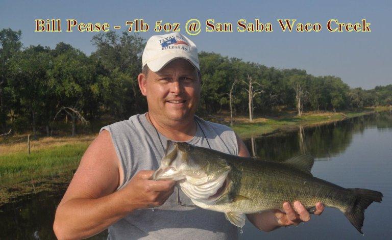 Bill  Pease Winning Fish
