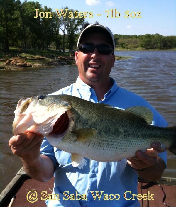 Jon  Waters 2nd Place Fish