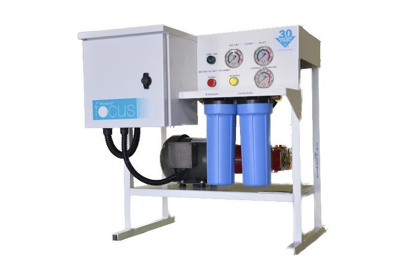 FOG FOCUS pump - front