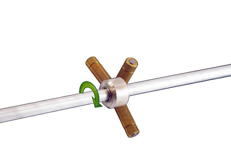 ROC nozzle rotating
