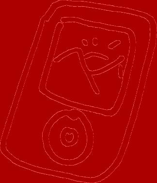 smartphone doodle