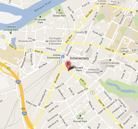 Proctors Location Map