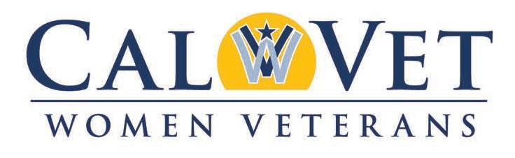 CalVet Women Veterans Logo