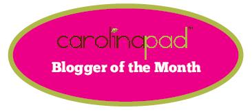Carolina Pad Blogger of the Month!
