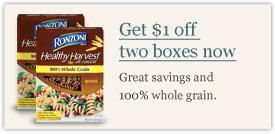 Great savings and 100% whole grain.