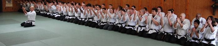 Seibukan Jujutsu bowing-in