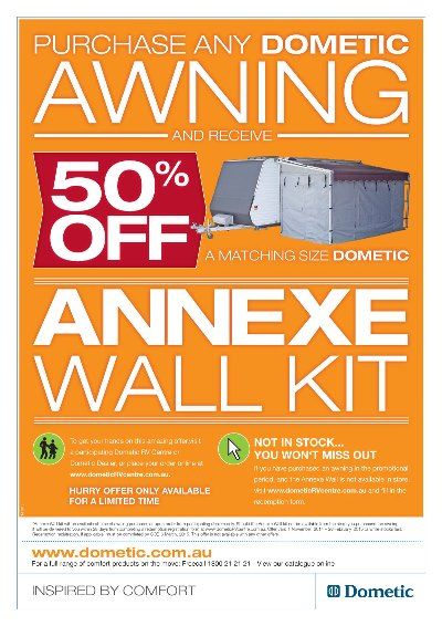 Awning deal flyer