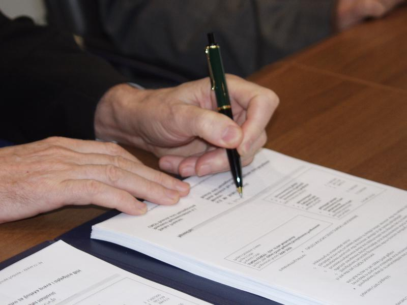 Signing into Law