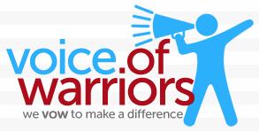Voice of Warriors logo