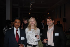 Patrons at Cabinets of Curiosities reception