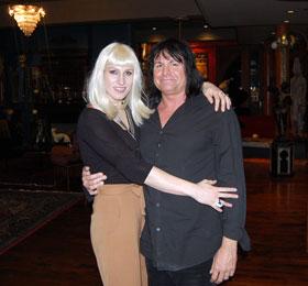 Jessica Phillips and Bill Jamieson