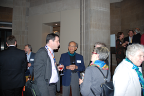 Dr. Clemens Reichel with RPC Members at the RPC Keynote