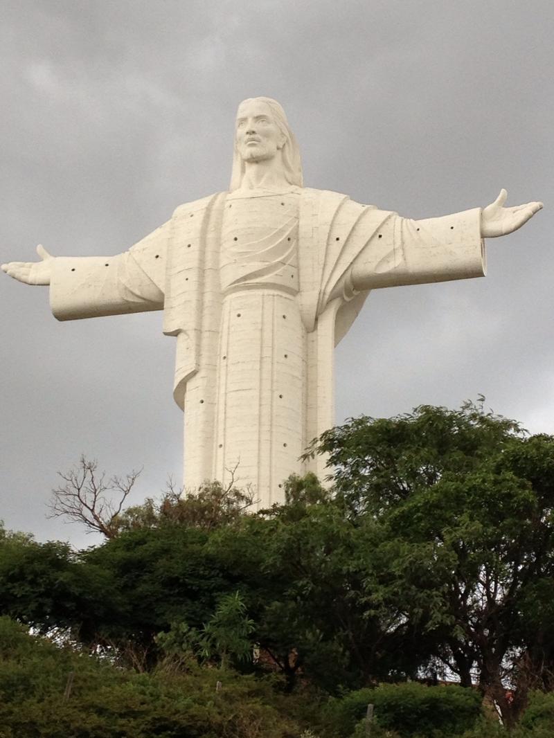 Cristo in Cochabamba