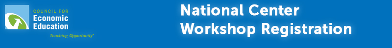 National Center Workshop Registration