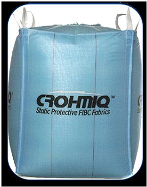 CROHMIQ is the world's safest static protective Type D FIBC