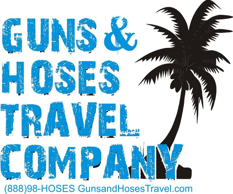 Guns and Hoses Travel New Logo