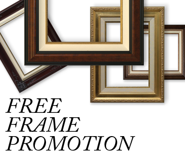 This Weekend Only! Thomas Kinkade Free Frames