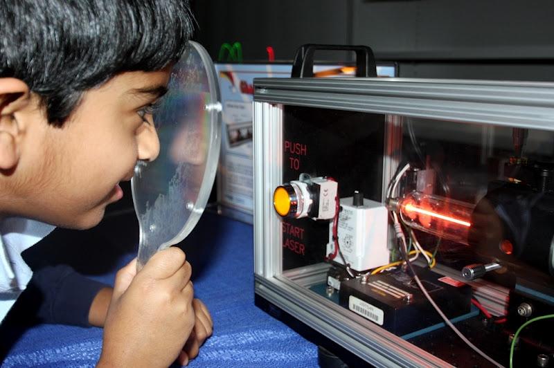 LaserFest at Tellus Science Museum