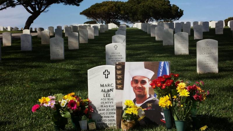 America's Mighty Warriors- Marc Lee Grave