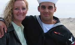 Debbie Lee and son Marc A Lee Americas Mighty Warriors