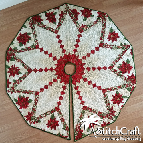 French Braid Tree Skirt