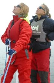 Dawn Riley coaches Lynn A.