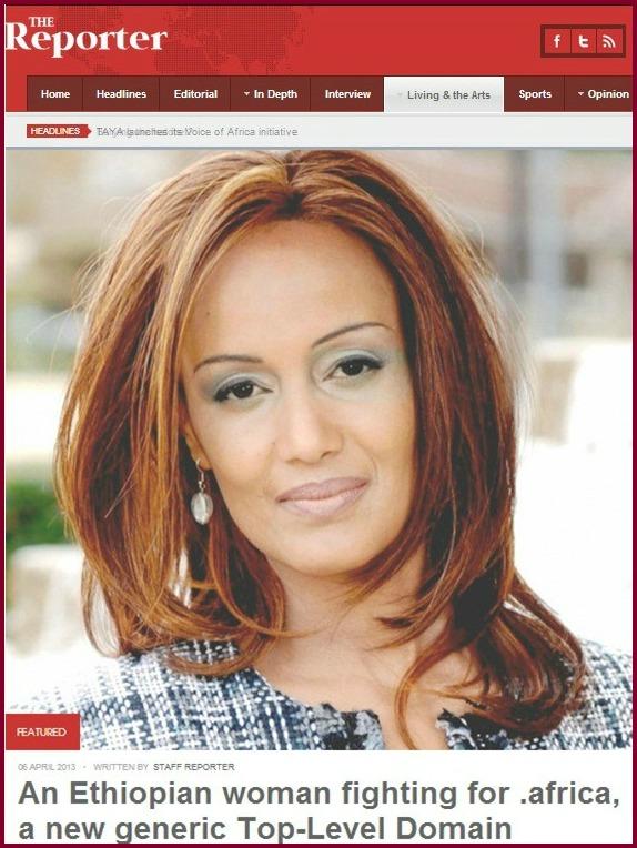Sophia Bekele: The EThiopian Women fighting for .africa gTLD