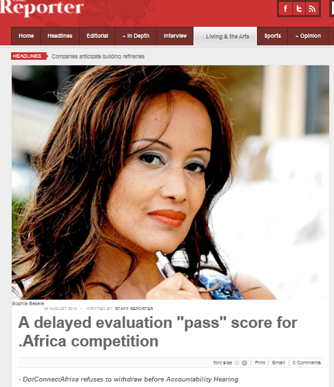 Sophia Bekele - The Reporter -Delayed Evaluation