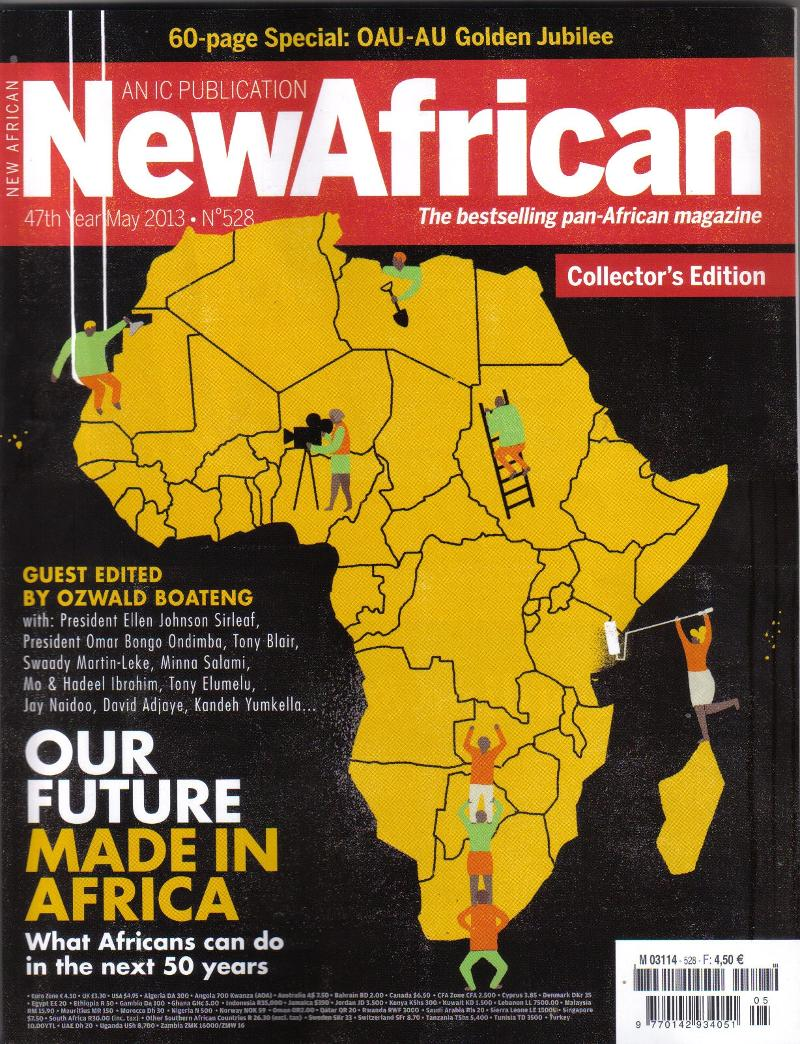 NewAfrican May 2013 Collectors Issue