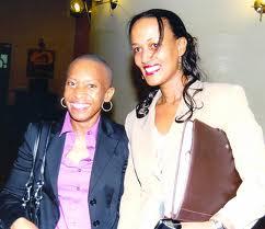 Alice Munyau and Sophia Bekele