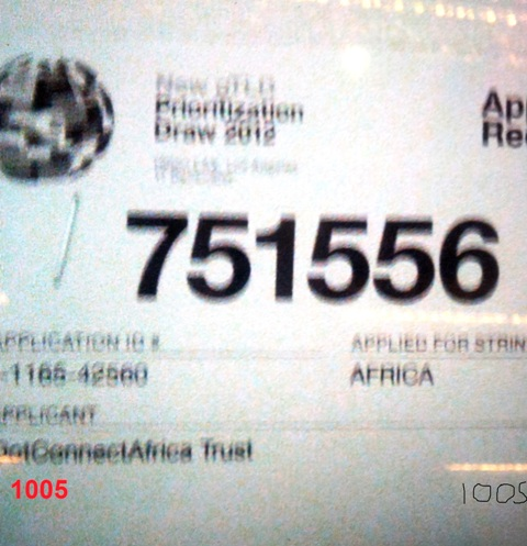 DotConnectAfrica Trust Prioritization Draw