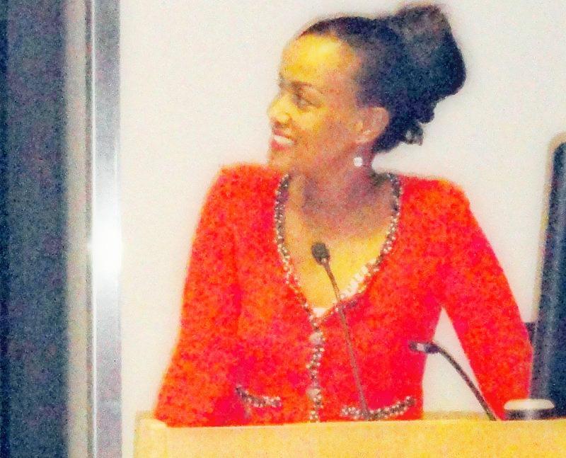 Sophia Bekele at Yale University USA
