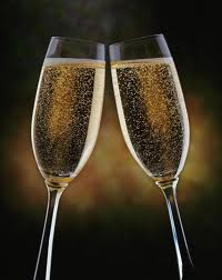 New Year Champaign cgass