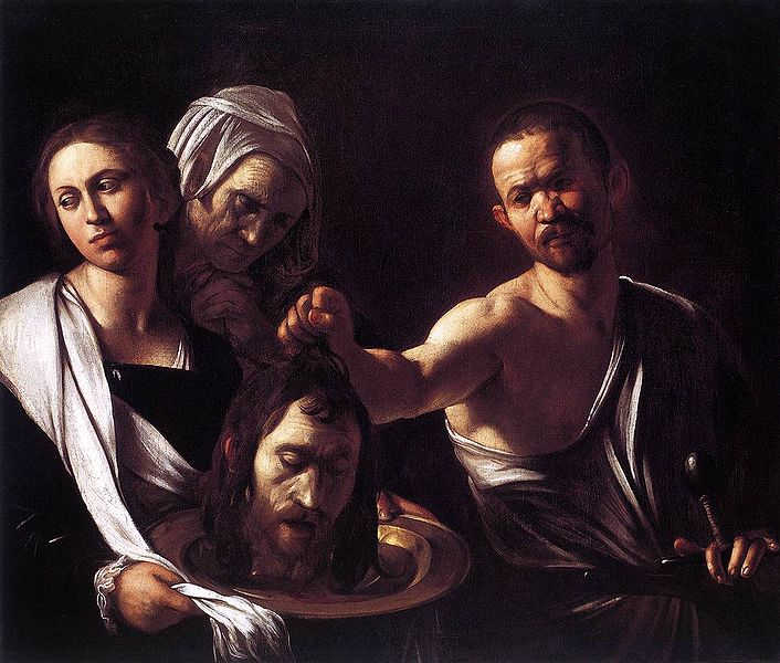Head of John the baptist.