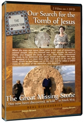 The Tomb of Jesus and THE GREAT MISSING STONE FREE DVD.
