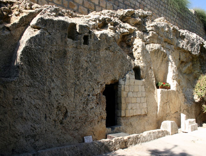 the Garden Tomb, the Tomb of Jesus