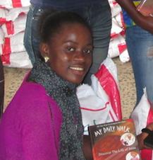 Liberia Ebola. 18 yr old Victoria