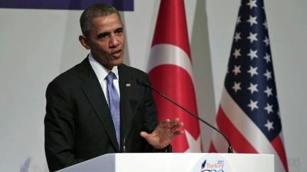 Barack Obama G20 Summit in Turkey